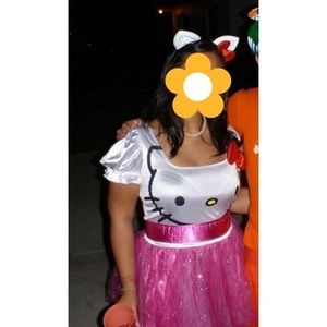 Women's Hello Kitty Halloween costume